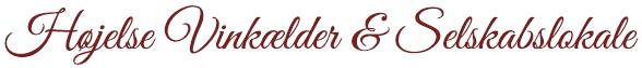 Højelse Vinkælder og Selskabslokale Logo